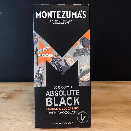 MONTEZUMA 93% BLACK ORANGE 90G