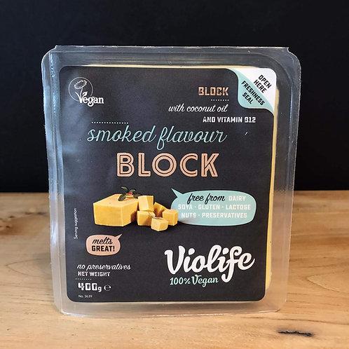 VIOLIFE SMOKED CHEESE BLOCK 400g