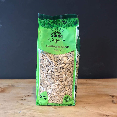 SUMA SUNFLOWER SEEDS ORGANIC 250G