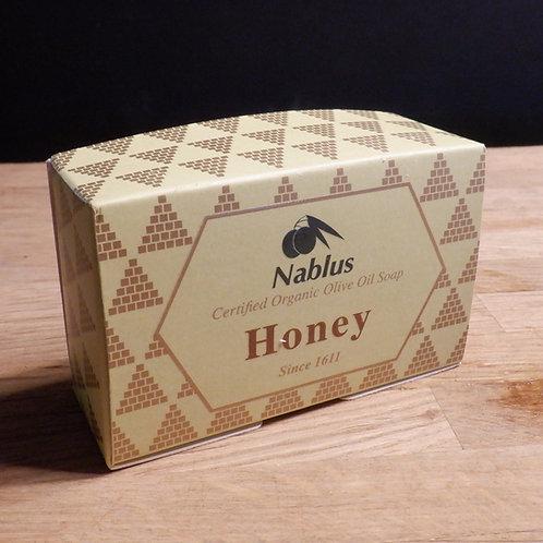 NABLUS OLIVE OIL SOAP - HONEY