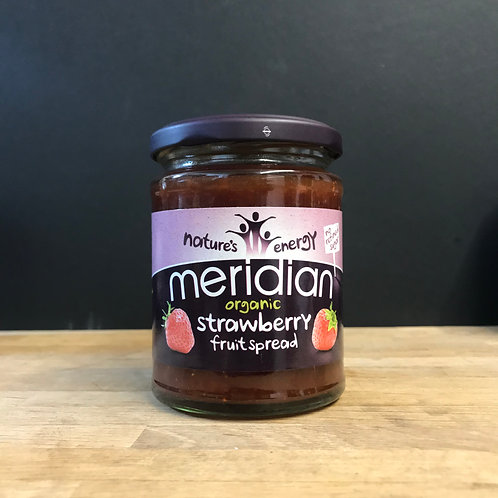 MERIDIAN ORGANIC STRAWBERRY FRUIT SPREAD