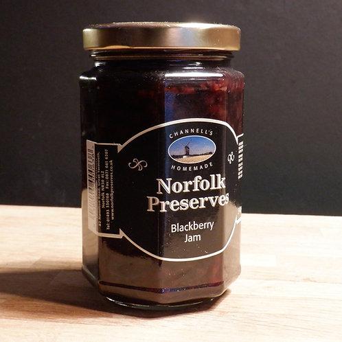 NORFOLK PRESERVES - BLACKBERRY JAM 340G