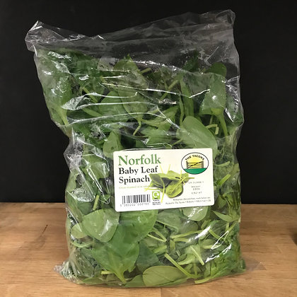 TACONS BABY LEAF SPINACH 250G