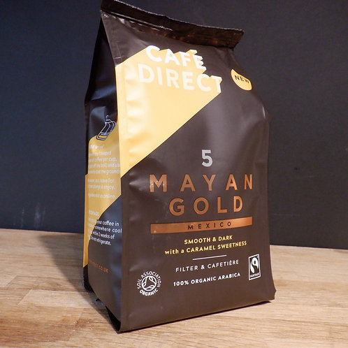 CAFE DIRECT - MAYAN GOLD GROUND COFFEE
