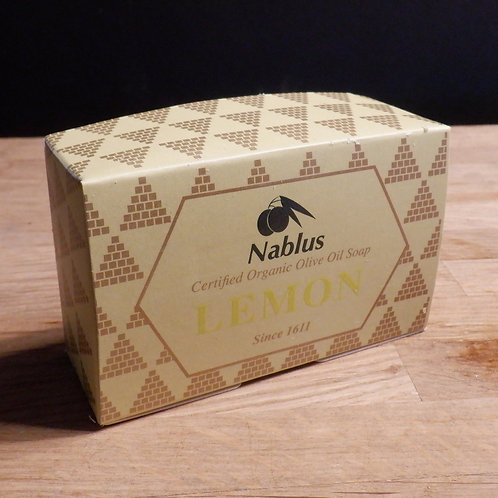 NABLUS OLIVE OIL SOAP - LEMON