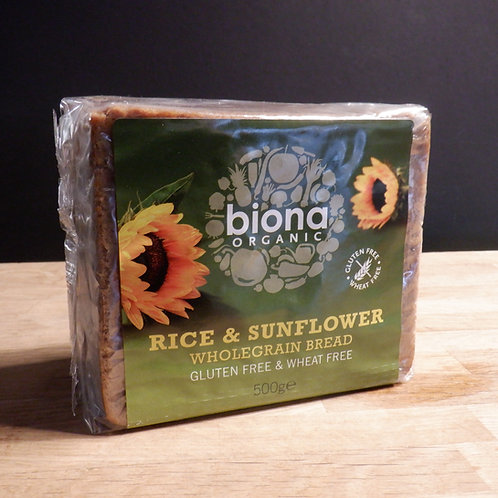 BIONA RICE & SUNFLOWER BREAD