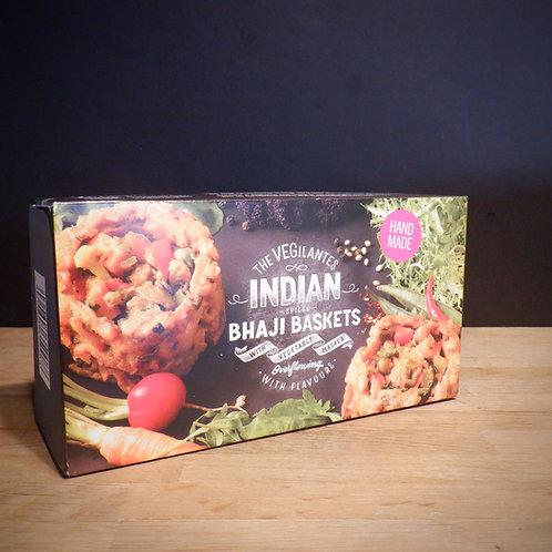 THE VEGILANTES - INDIAN SPICED BHAJI BASKETS!