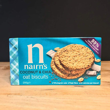 NAIRNS COCONUT & CHIA BISCUIT