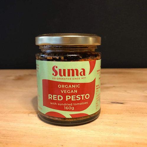 SUMA ORGANIC RED PESTO VEGAN 160G