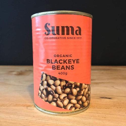 SUMA ORGANIC TINNED BLACKEYE BEAN
