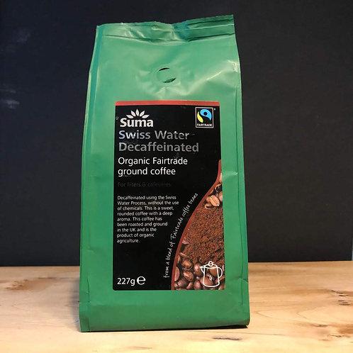 SUMA SWISS WATER DECAF 227 COFFEE