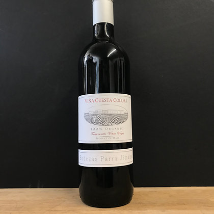 RED WINE CUESTA COLORA TEMPRANILLO