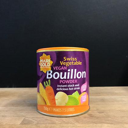 MARIGOLD ORGANIC BOUILLON POWDER REDUCED SALT 110G