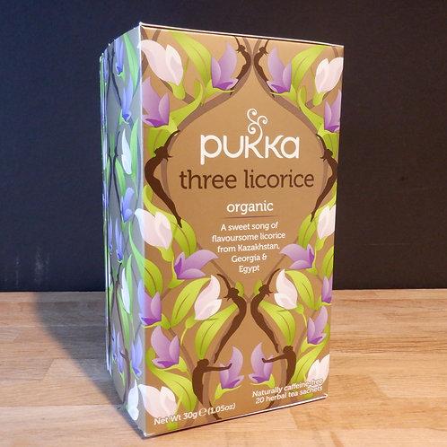 PUKKA - THREE LICORICE TEA - 20 BAGS
