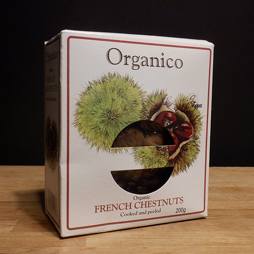 ORGANICO - FRENCH CHESTNUTS 200G