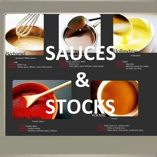 SAUCES & STOCKS