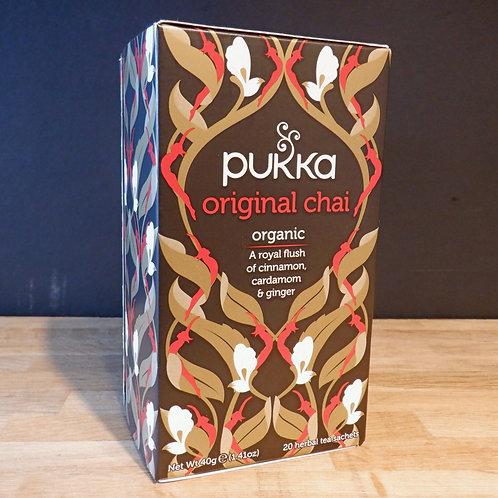 PUKKA - ORIGINAL BLACK SPICE CHAI TEA - 20 BAGS