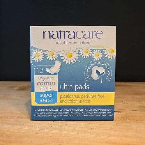 NATRACARE 12 SUPER- ULTRA PADS
