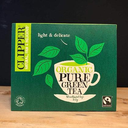 CLIPPER ORGANIC GREEN TEA 80 BAGS
