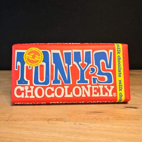 TONY'S MILK CHOCO 180G