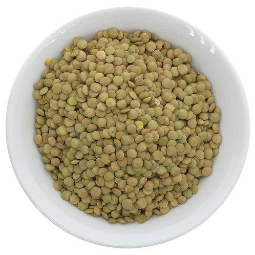 SUMA ORGANIC GREEN LENTILS (100g)