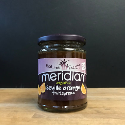 MERIDIAN ORGANIC SERVILLE ORANGE FRUIT SPREAD