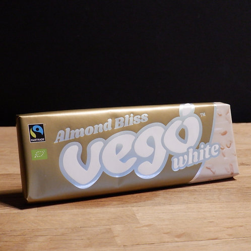 VEGO - WHITE, ALMOND BLISS 50G