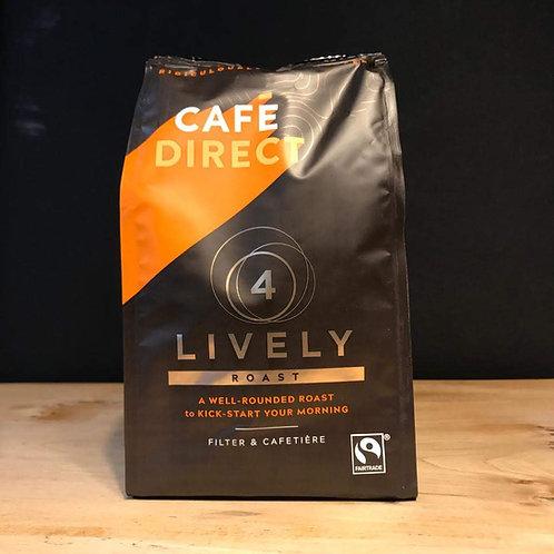 CAFE DIRECT LIVELY ROAST (4) 227G