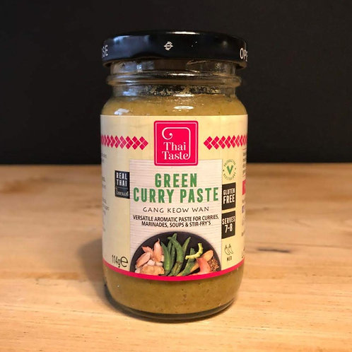 THAI TASTE - GREEN CURRY PASTE - 114G