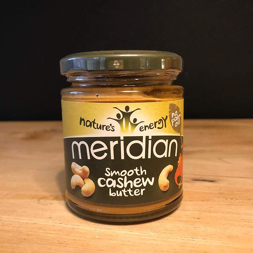 MERIDIAN CASHEW BUTTER SMOOTH 170G