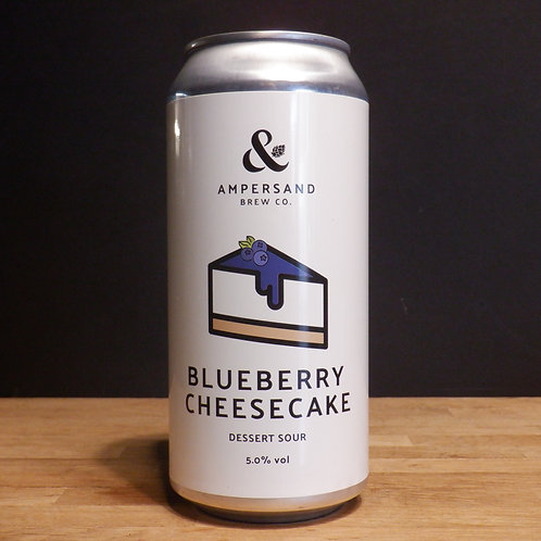 AMPERSAND - BLUEBERRY CHEESECAKE - 440ML CAN -5% ABV