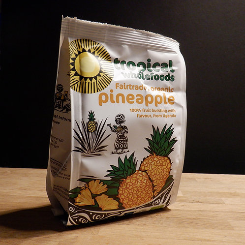 TROPICALWHOLEFOODS - PINEAPPLE  100G