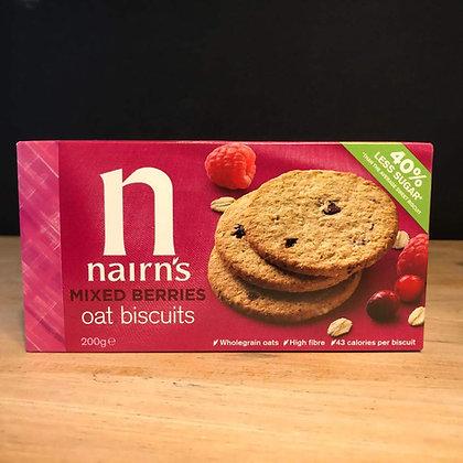 NAIRNS MIXED BERRIES BISCUITS