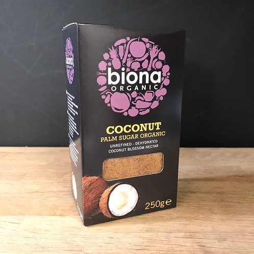 BIONA ORGANIC - COCONUT PALM SUGAR