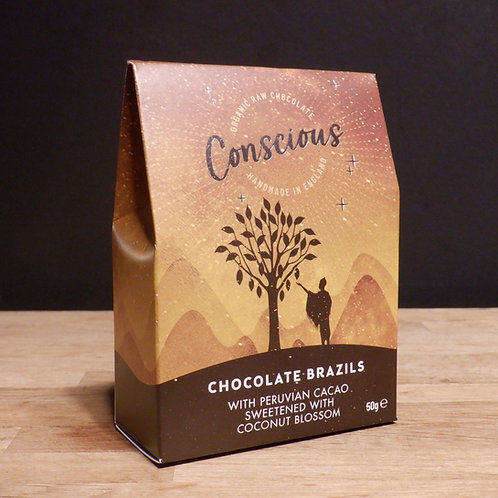 CONSCIOUS- CHOCOLATE COVERED BRAZILS