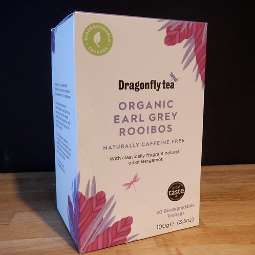 DRAGONFLY TEA - EARL GREY ROOIBOS - 40 BAGS