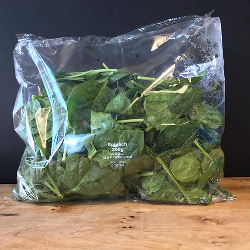 SPINACH BABY LEAF (200g) approx