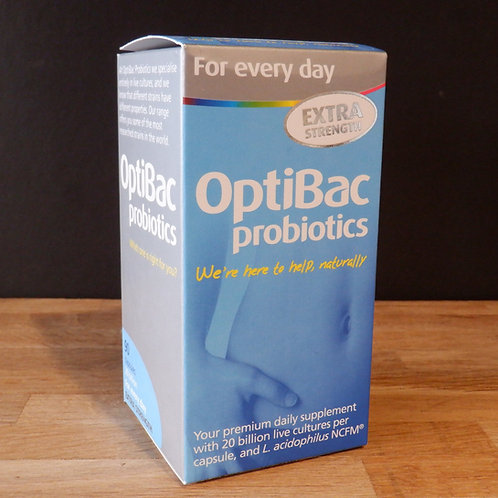 OPTIBAC - FOR EVERY DAY - EXTRA STRENGTH - 90 CAPSULES