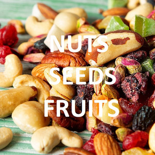 NUTS | SEEDS | DRIED FRUITS