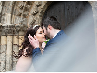 A Blush and Navy February Wedding in Worksop