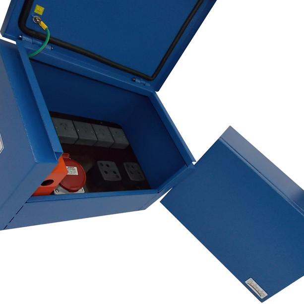 Tablero eléctrico para construcción