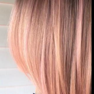 Rose quartz demi overlay