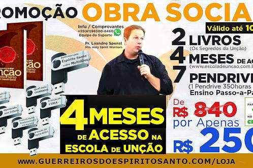 PROMOÇÃO 7 PENDRIVES em 1 + 2 LIVROs + 4 MESES DE ACESSO