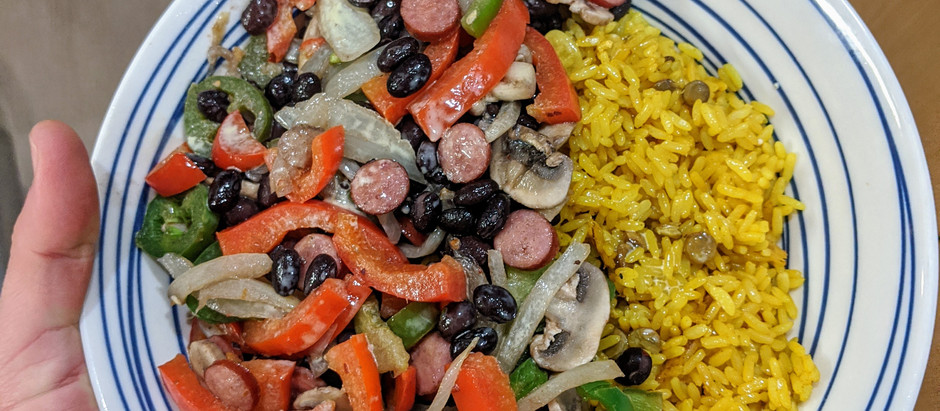 Fajita Bowl (Vegan/Omnivorous Options)