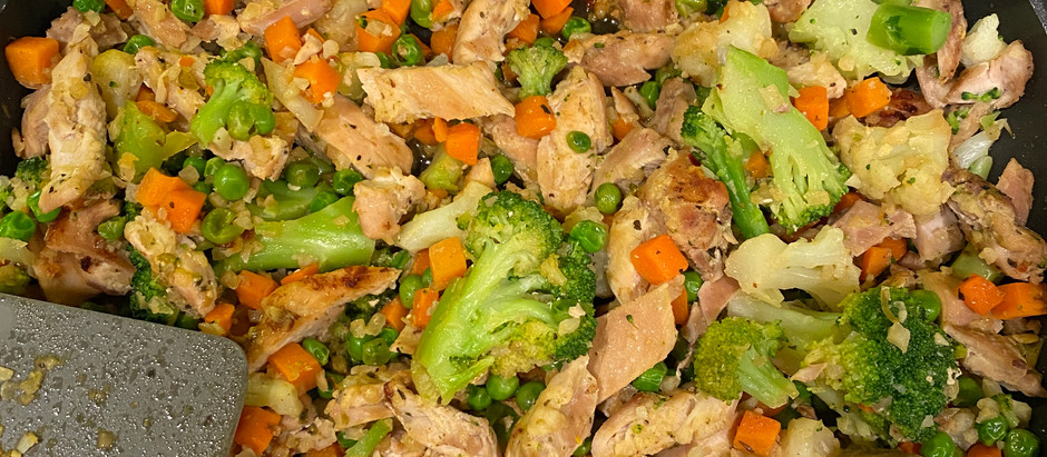 Low-Calorie Dinner! Sweet & Spicy Stir Fry (High Protein)