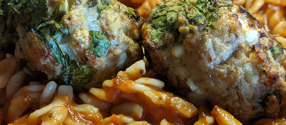 Low-Fat, Quick Feta and Spinach Meatballs (Idiot-Proof Recipe)