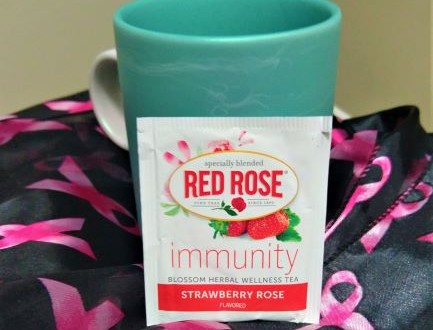 Teatime with Mrs. Joho: Red Rose Immunity Strawberry Rose Tea