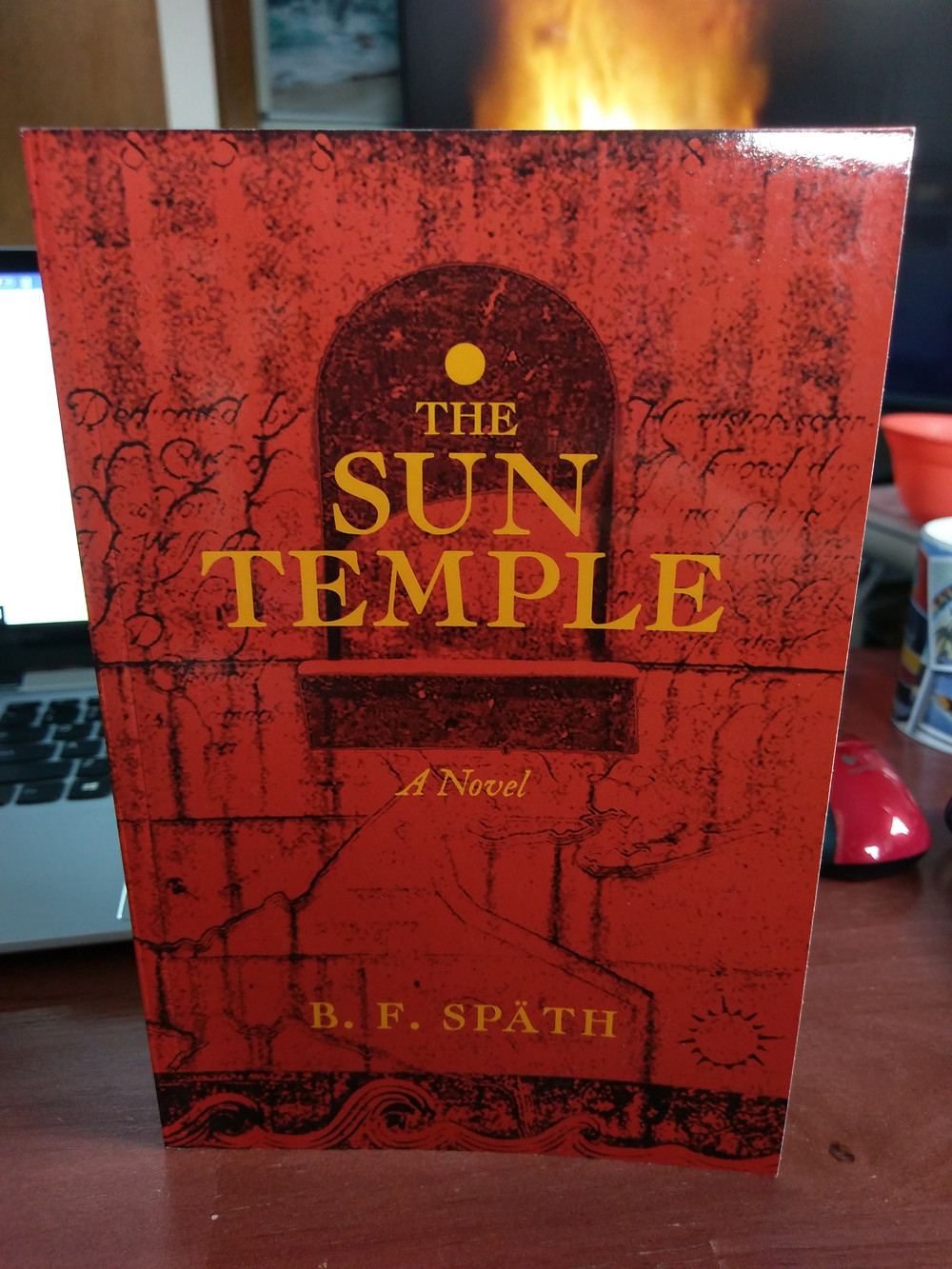 """My copy of """"The Sun Temple"""" by B.F. Spath"""