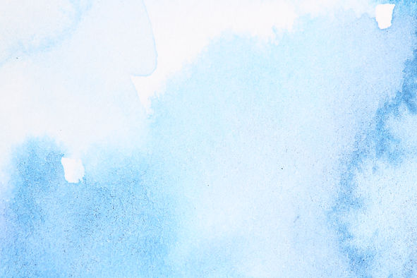Abstract blue watercolor with stains. Blue and turquoise background with empty space for t