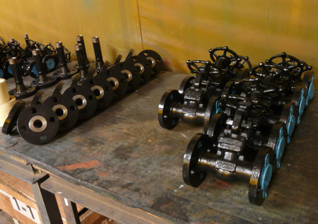 Valves and Valve Flanges